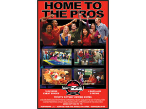 Design of ESPN Sports zone print promotion card