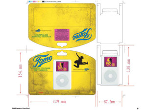 Fame iPod Giveaway: Print Production