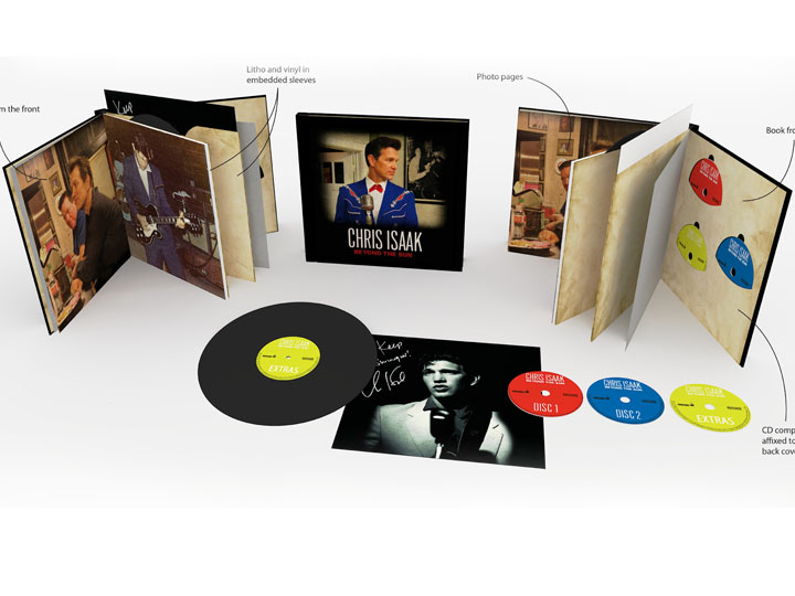 Chris Isaak collectable box set.